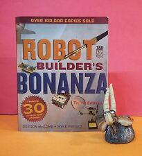 G McComb, M Predko: Robot Builder's Bonanza 3rd ed/robotics/electronics/hobbies