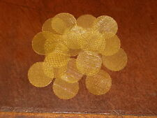 """20 Brass smoking screens for pipes or hookahs 1"""" 25mm HEAVY DUTY FREE SHIPPING"""