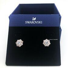 Sunshine Stud Pierced Earrings White Rose Gold 2019 Swarovski Jewelry 5459597