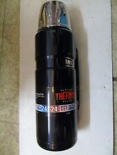 Thermos Stainless Steel King Flask with Handle Blue 1.2L Portable Outdoor New