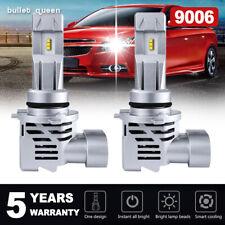 2x 9006 HB4 LED Headlight Bulbs Kit Low Beam 6000K 120W 24000LM White Light Mini