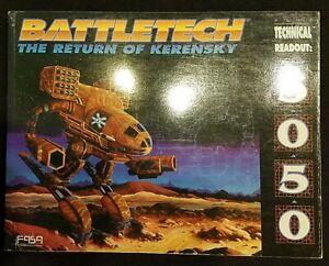 BattleTech The Return of Kerensky RPG Game Book