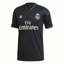 Adidas Herren Fußball Real Madrid CF Away Trikot LFP 2018 2019 dunkelgrau weiß
