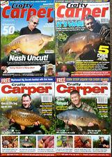 4 x Crafty Carper Magazines -  2005-2007-2011