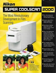 Nikon LS 2000 Super Coolscan Scanner for 35 mm slides and negatives