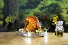 Char Broil Stainless Steel Beer-Can Chicken Roaster ORIGINAL Char-Broil