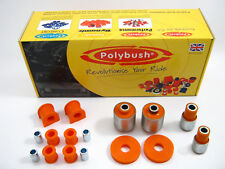 Polybush Vehicle Bush Set (Rear Suspension) for MG TF, 2002-2005: Kit108
