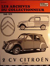 revue technique CITROEN 2 CV /  1948-1970 / ARCHIVES DU COLLECTIONNEUR