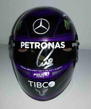 New listing 2020 Lewis Hamilton Mercedes F1 model helmet signed 1/2 Formula 1