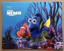 Disney Store Finding Nemo Lithographs Set of 4 - New