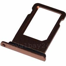 iPhone 8 ALU nanoSIM Karten-Halter + Dichtung Gold  tray card Adapter Schlitten
