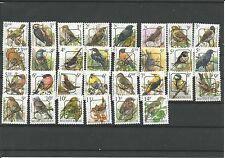 Belgium birds all precanceled MNH !!!!! COMPLETED SERIE  !!!!