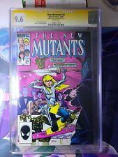 New Mutants #34 CGC 9.6 WP SS Signed by Steve Leialoha MCU MOVIE Marvel 1985