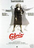 Gloria Gena Rowlands vintage movie poster print