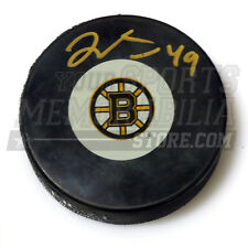 Rich Peverley Boston Bruins signed Bruins hockey puck
