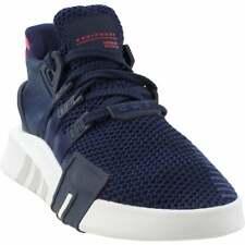 Adidas Eqt Bask ADV Con Cordones Zapatillas de baloncesto para hombre Zapatos Informales-Azul Marino -