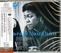 SARAH VAUGHAN-SARAH VAUGHAN WITH CLIFFORD BROWN-JAPAN SHM-CD BONUS TRACK C94