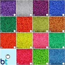 BeadTin Transparent 5mm Round Plastic Beads (700pcs) - Color choice