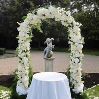 DIY Metal Wedding Arch Backdrop Decorative Props Flower Floral Frame Arch Decor