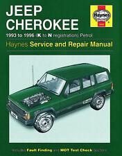 1943 Haynes Jeep Cherokee Petrol (1993 - 1996) K to N Workshop Manual