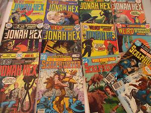 Weird Western Tales Jonah Hex Scalphunter Vintage Comic Books Lot West 70s