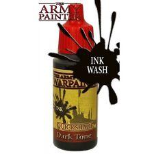 Army Painter BNIB Warpaint-Qs Tono Oscuro Tinta