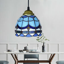 Stained Glass Hanging Ceiling Pendant Downlight Fixture Beautiful Light