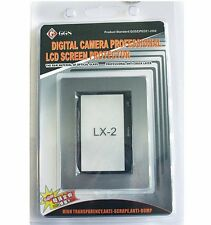 GGS Optical Glass LCD Screen Protector for Panasonic Lumix DMC-LX2 camera