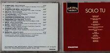 MATIA BAZAR RENATO ZERO PATTY PRAVO SCIALPI VIOLA VALENTINO CD Solo tu 1990