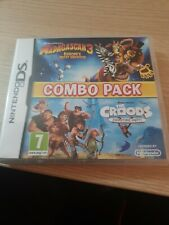 Madagascar 3 & The Croods Combo Pack - Nintendo 3DS Game. Complete.