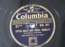 78 tr/min Ken Griffin orgue Petite Sally une chaussure/Roses Foxtrot