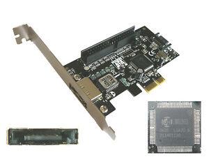 PCI Express Scheda Controller Pcie SATA II + Esata + Ide