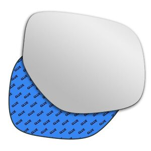 Right wing adhesive mirror glass for Citroen C4 Aircross 2013-2019 482RS