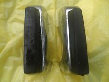1971-72-73 OPEL   1900 Sports Wagon BUMPER GUARDS,W. PADS, PAIR 1972 BUICK