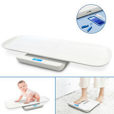 Digital Electronic Baby Pet Scale Weight Body Measure Infant Usb Charging 220lbs