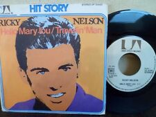 """7"""" RICKY NELSON - Hello Mary Lou - VG+/VG+ - UNITED ARTISTS - UP 35.962 - FRANCE"""