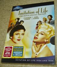 Imitation of Life - Two Movie Collection (DVD, 2012, 2-Disc Set, Two-Movies),NEW