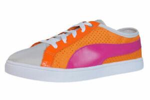 Puma Kai Lo Perf Women's Lace Up Trainers Casual Shoes 9704 Orange UK Size 4