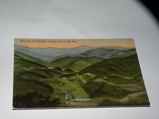 VINTAGE RAILROAD AT 17 POINTS IN THE LAND OF THE SKY Asheville NC postcard