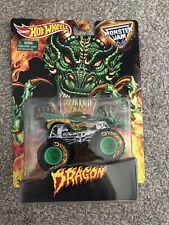 Hot Wheels Monster Jam Dragon Mail In Rare Truck 1:64