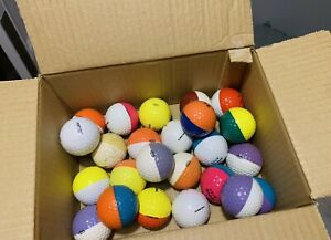 PING EYE GOLF BALLS  ATTIC FIND IN TOTAL RARE OLD ANTIQUE COLLECTION