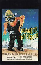 Fiche Cinéma - FRED MCLEOD WILCOX - PLANETE INTERDITE - 1956 / AFFICHE