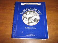 Mathematics Their Way: Grades K-2  Sourcebook by Mary Baratta-Lorton 1995 PB