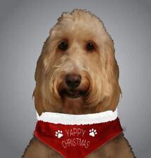 Collari rossa in tessuto per cani