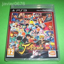 J-STARS VICTORY VS+ NUEVO Y PRECINTADO PAL ESPAÑA PLAYSTATION 3 PS3