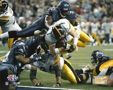 SUPER BOWL XL 8x10 ACTION PHOTO Steelers vs Seahawks BEN ROETHLISBERGER & BETTIS