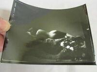 #5  Vintage Nude Risque Art Photography Contact Photo Print shadow slumber bed