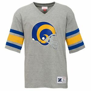 Mitchell & Ness NFL Youth (8-20) Los Angeles Rams Post Season Run V-Neck Tee