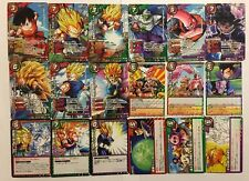 Dragon Ball Miracle Battle Carddass Rare Set DB17 18/18