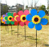 HOT Sunflower Windmill Wind Spinner Decoration Home Yard Garden Decor